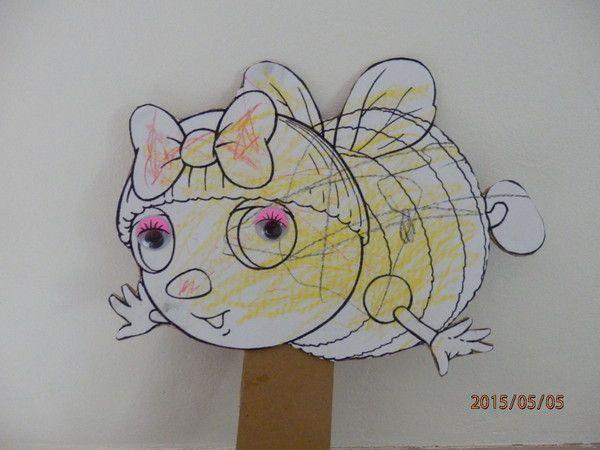 Coloriage Mireille Labeille.Mireille L Abeille